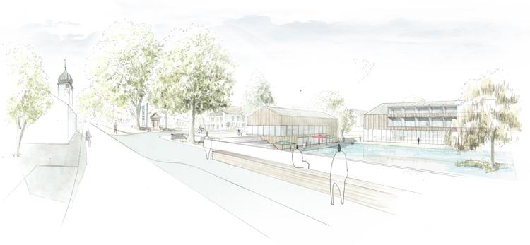 Der Wettbewerb Planung Stern Landschaften Und UA Urban Architektur Wurde Mit Einer Anerkennung Bedacht